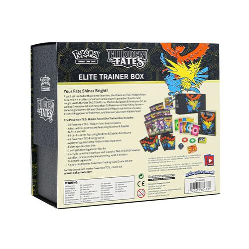 Pokemon TCG: Hidden Fates Elite Trainer Box