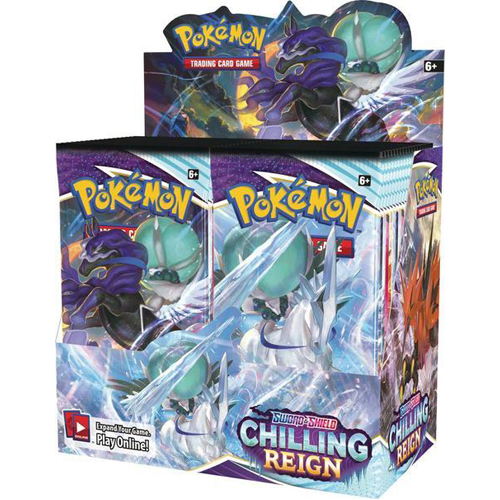 Pokemon TCG: Sword & Shield Chilling Reign Booster Box