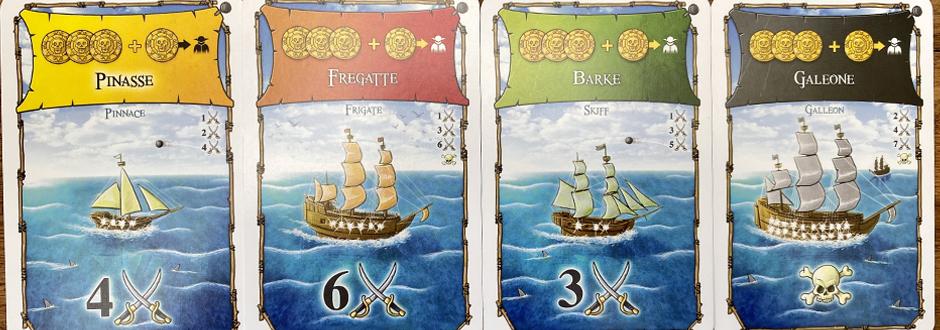 Port royal expansion cards