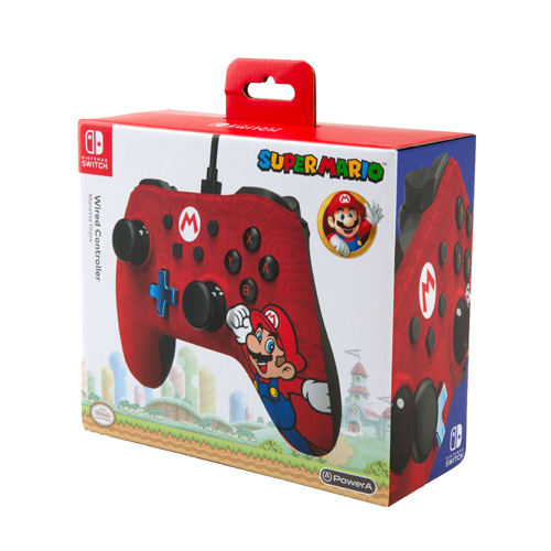Power A Officially Licensed Nintendo: Wired Controller - Super Mario - Nintendo Switch