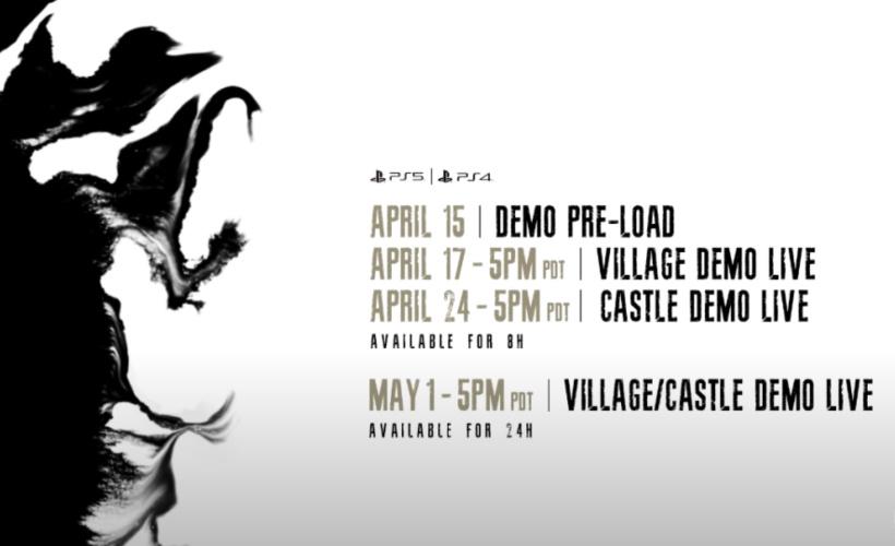 Resident Evil Village Key Dates