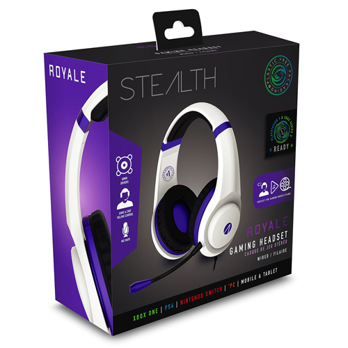 STEALTH XP-Royale Stereo Gaming Headset (Metallic Purple)