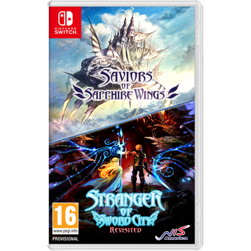 Saviors of Sapphire Wings - Stranger of Sword City Revisited - Nintendo Switch