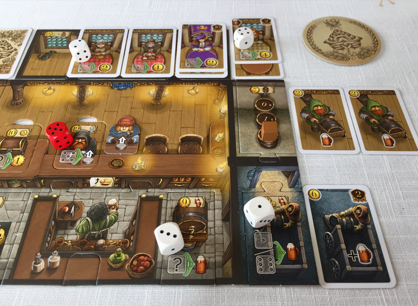 Taverns of tiefenthal dice placement