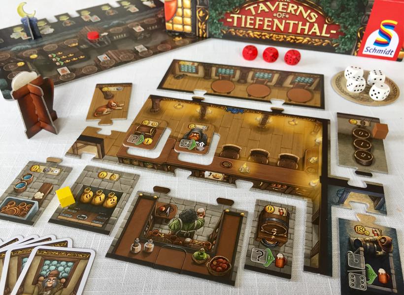 Taverns of tiefenthal set up