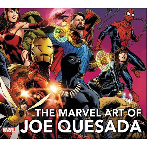 The Art of Joe Quesada - Expanded Edition (Hardback)