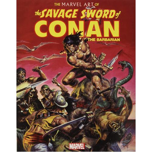 The Art of Savage Sword of Conan (Paperback)