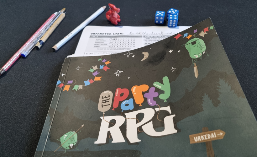 The RPG Party Book