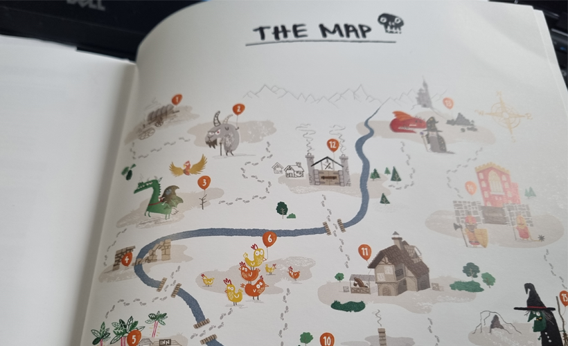 The RPG Party Map