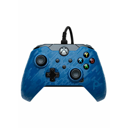 Wired Controller Blue Camo - Xbox Series X