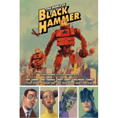 World of Black Hammer Library Edition Volume 2, The (Hardback)