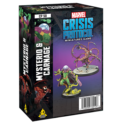Marvel Crisis Protocol Miniatures Game: Mysterio and Carnage