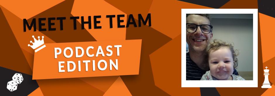 Meet the podcast team - andy bush