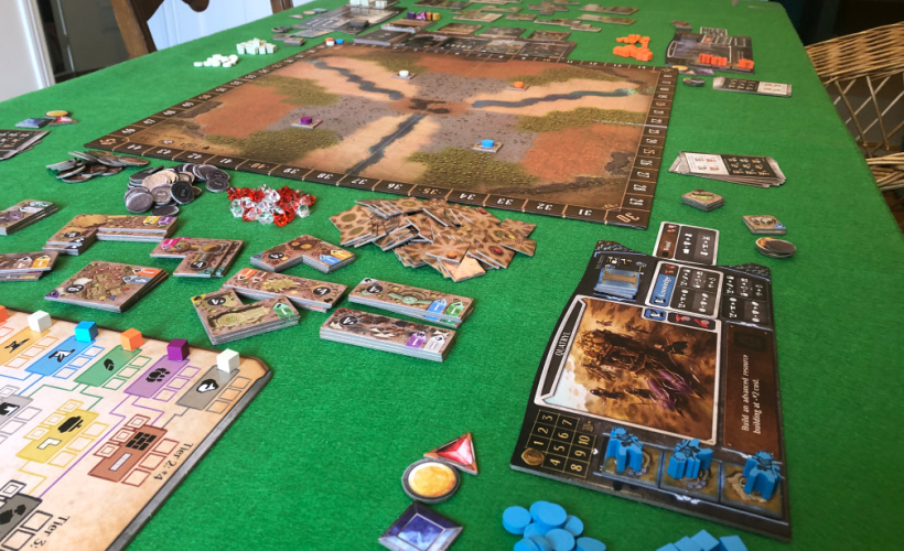 founders of gloomhaven board overview