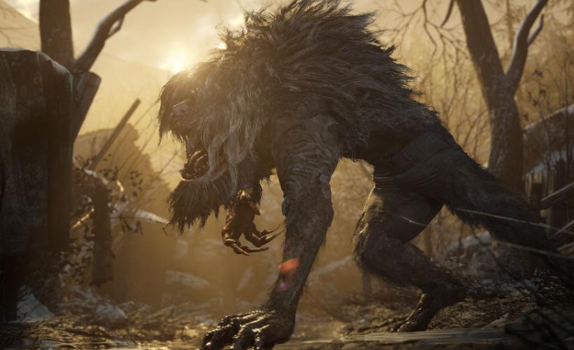 resident evil village werewolf