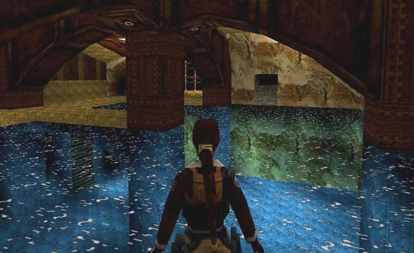 tomb raider II gameplay