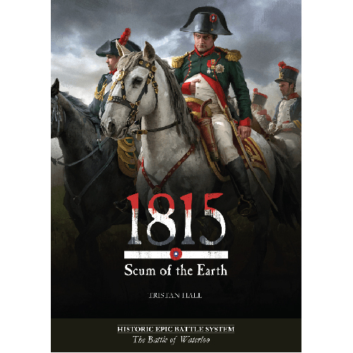 1815, Scum of the Earth: The Battle of Waterloo Card Game (1st print)