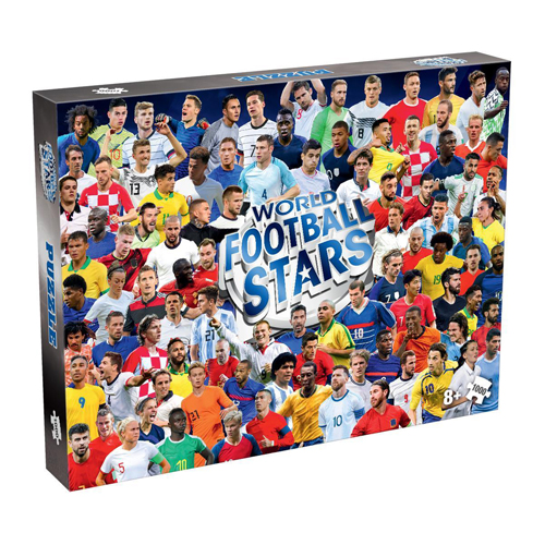 2021 World Football Stars Puzzle (1000 pieces)
