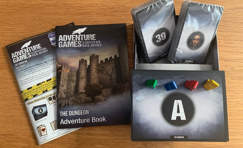 Adventure Games The dungeon inside