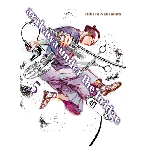 Arakawa Under the Bridge, 5 (Paperback)