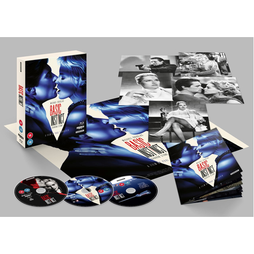 Basic Instinct Collector's Edition (With Booklet) - 4K Ultra HD + Blu-ray