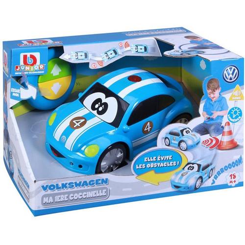 Bburago Junior Vw Volkswagen Easy Play Remote Control Blue