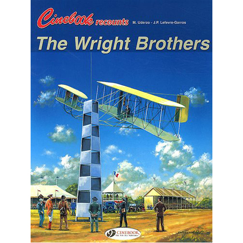 Cinebook Recounts the Wright Brothers (Paperback)