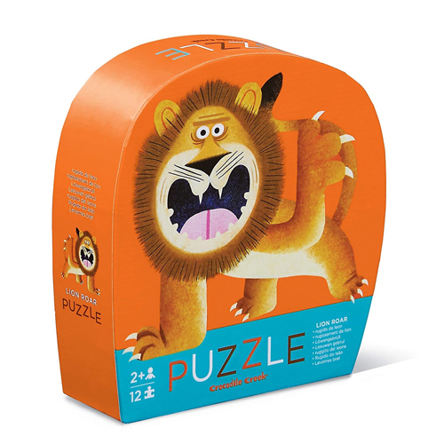 Crocodile Creek 12-piece Mini Puzzle: Lion Roar