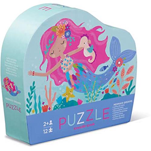 Crocodile Creek 12-piece Mini Puzzle: Mermaid Dreams
