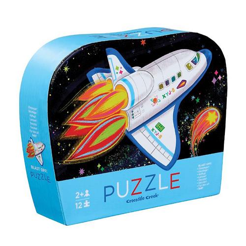 Crocodile Creek 12-piece Mini Puzzle: Rocket