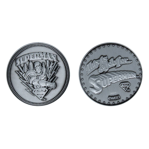 DC Superman Limited Edition Coin
