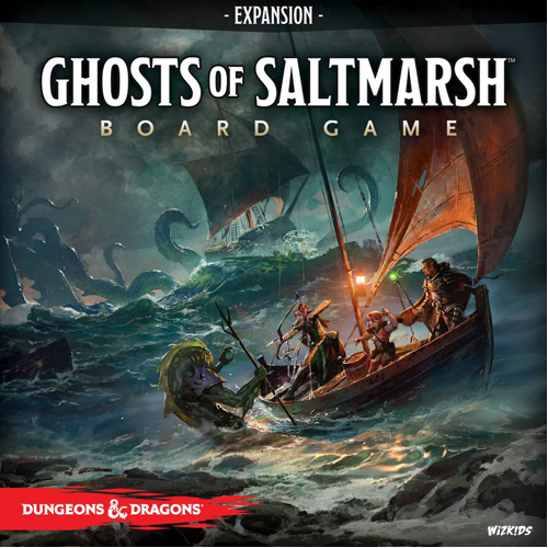 D&D: Ghosts of Saltmarsh Adventure System Board Game Expansion