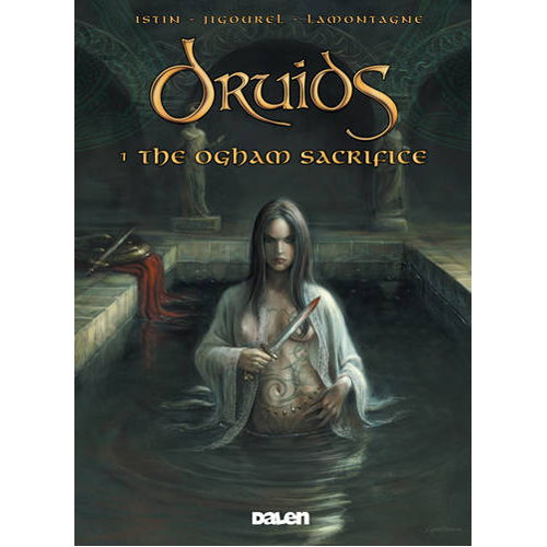 Druids 1: The Ogham Sacrifice (Paperback)