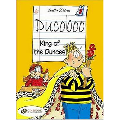 Ducoboo Vol.1: King of the Dunces (Paperback)