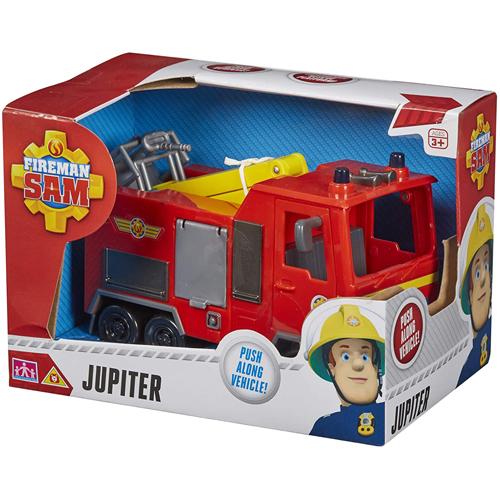 Fireman Sam Push-Along Vehicle: Jupiter Fire Engine