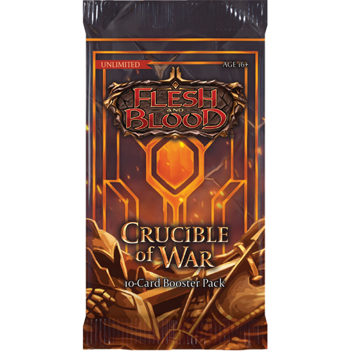 Flesh and Blood TCG: Crucible of War Unlimited Booster Pack