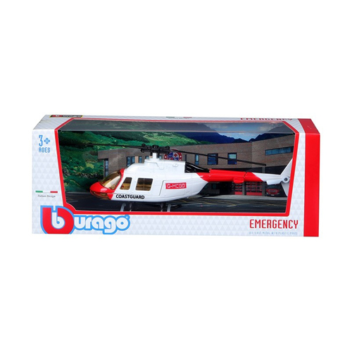 Fresh Metal Emergency Helicopter Assortment