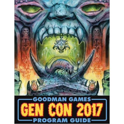 Goodman Games Gen Con 2017 Program Guide: Dinosaur Crawl Classics