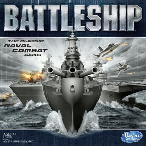 Hasbro Battleship: The Classic Naval Combat Game