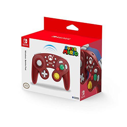Hori Wireless Mario Smash Gamepad - Nintendo Switch