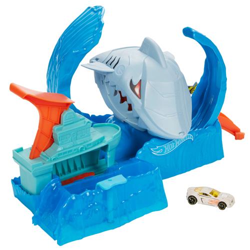 Hot Wheels City Robo Shark Playset