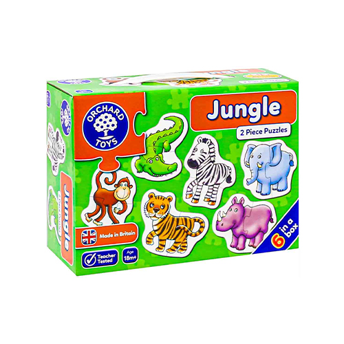 Jungle Two Piece Puzzles