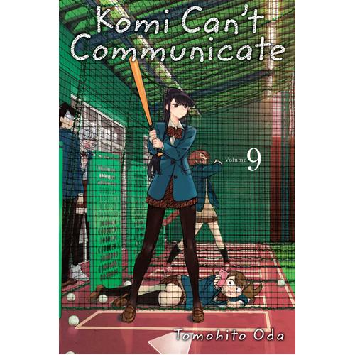 Komi Can't Communicate, Vol. 9