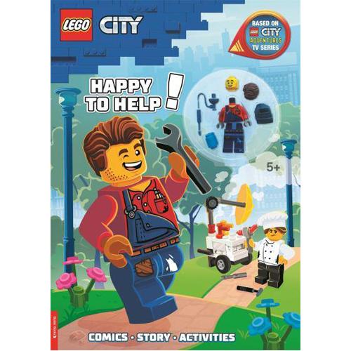 LEGO City: Happy to Help! (with Harl Hubbs minifigure)