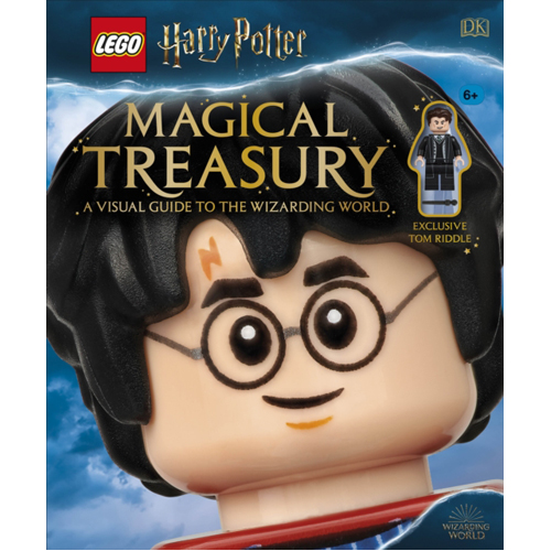 LEGO Harry Potter Magical Treasury: A Visual Guide to the Wizarding World (with exclusive Tom Riddle minifigure)