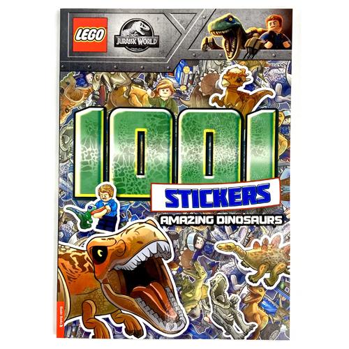 LEGO Jurassic World: 1001 Stickers: Amazing Dinosaurs