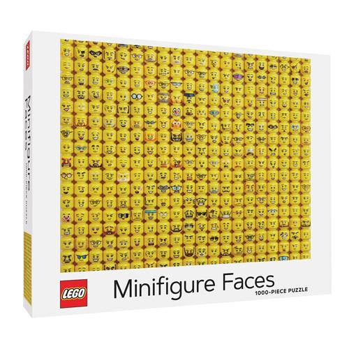 LEGO Minifigure Faces 1000-Piece Puzzle