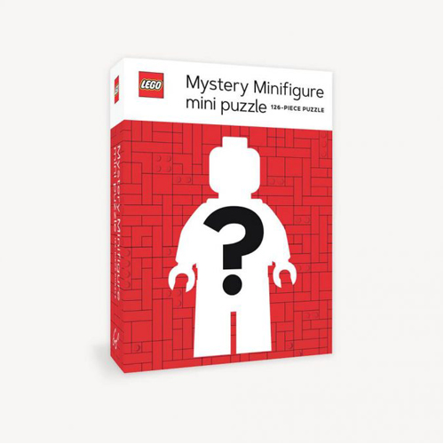 LEGO Mystery Minifigure Mini Puzzle (Red Edition, One Supplied)