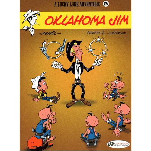 Lucky Luke Vol 76: Oklahoma Jim (Paperback)