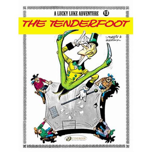 Lucky Luke Vol.13: The Tenderfoot (Paperback)
